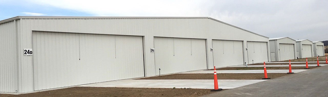 4 bay hangar